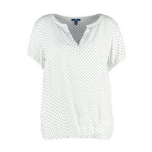 TOM TAILOR Tshirt z nadrukiem whisper white