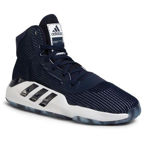Adidas Buty - pro bounce 2019 ef9834 collegiate navy/cloud white/cloud white