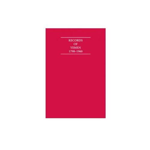Records of Yemen 1798-1960 16 Volume Set (9781852073701)