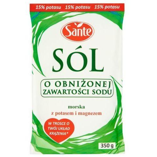 Sante sól morska o obniżonej zawartości sodu 350 g