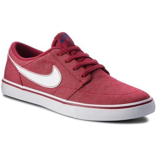 Nike Buty - sb portmore ii slr cvs p 880269 600 red crush/white/white