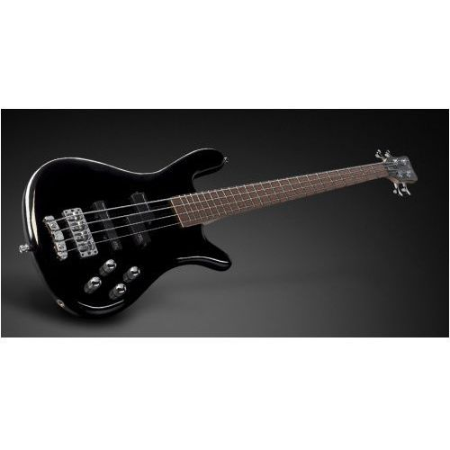 streamer lx 4-string, black solid high polish, active, fretted gitara basowa marki Rockbass