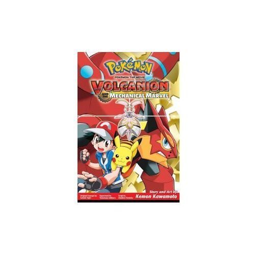 Pokemon the Movie: Volcanion and the Mechanical Marvel (9781421594194)