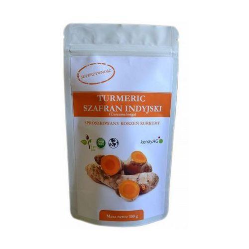 Kurkuma (Turmeric) sproszkowany korzeń (curcuma longa) 100g