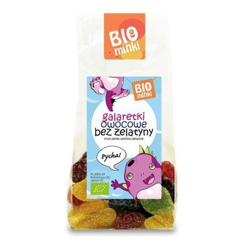 Biominki (przekąski dla dzieci) Galaretki owocowe bez żelatyny bio 100 g - biominki