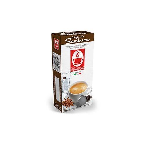 Kapsułki do Nespresso* SAMBUCA 10 kapsułek - do 12% rabatu przy większych zakupach oraz darmowa dostawa, CB-NSP-SAMBUCA_-010A