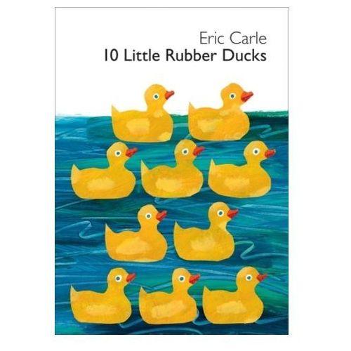 10 Little Rubber Ducks. 10 kleine Gummienten, englische Ausgabe