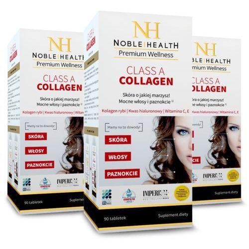 Tabletki 3x Kolagen morski w tabletkach Class A Collagen