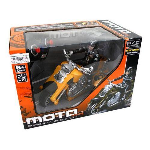 BRIMAREX Motocykl na radio (1569950) (motor zabawka) od Puchatkolandia.pl