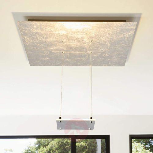 Lampa sufitowa LED Marlou, srebrna, pośrednia (4251096541700)