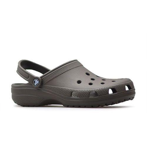 Klapki classic 10001-200 brązowe marki Crocs