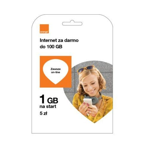 Starter free na kartę 5 pln marki Orange
