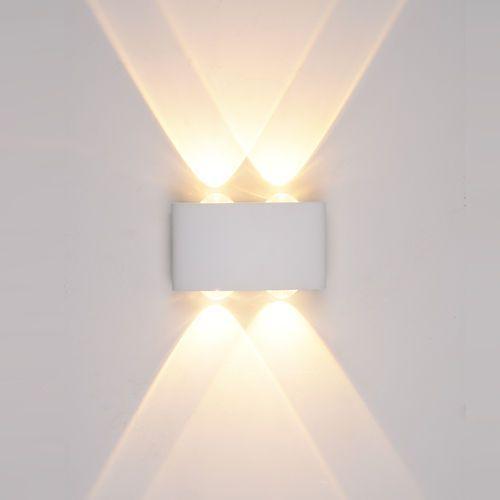 Italux Gilberto PL-261W Kinkiet oprawa ścienna 4x4W LED biały, PL-261W