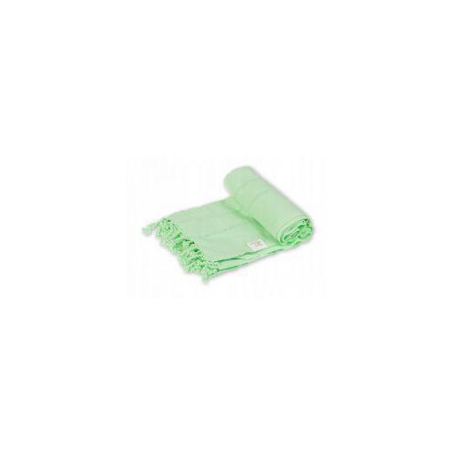 Import Sauna ręcznik hammam 100%bawełna 185/90 ajur 1 zielony