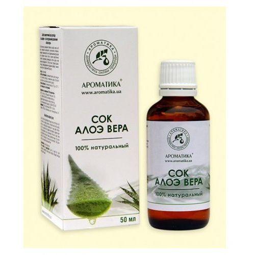 Aloe vera sok kosmetyczny 50 ml. marki Aromatika