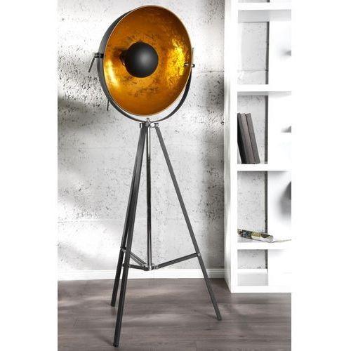 D2 Lampa podłogowa studio czarna