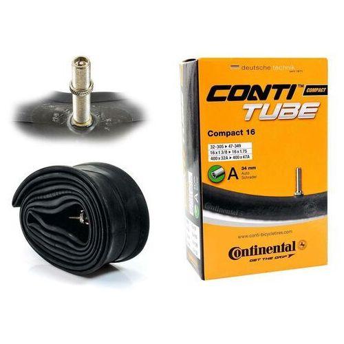 "Continental Co0181091 dętka compact 16'' x 1,25"" - 1,75'' wentyl auto 34 mm (4019238556261)"