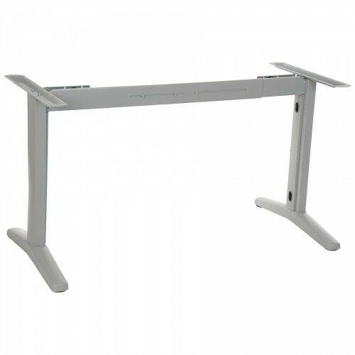 Stelaż metalowy stołu (biurka) z rozsuwaną belką STT-01, kolor aluminium, STT01/58