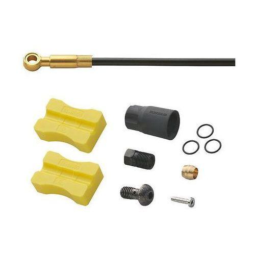 Przewód hamulcowy hydrauliczny saint sm-bh90-sbls ice tech 1000 mm przód czarny marki Shimano