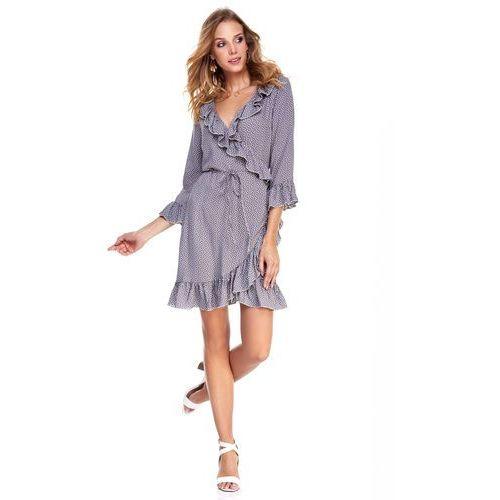 Sukienka margot szara we wzór marki Sugarfree