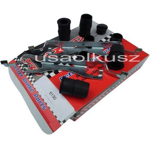 Betterbrakeparts Zestaw montażowy przednich zacisków hamulcowych dodge durango 2011-