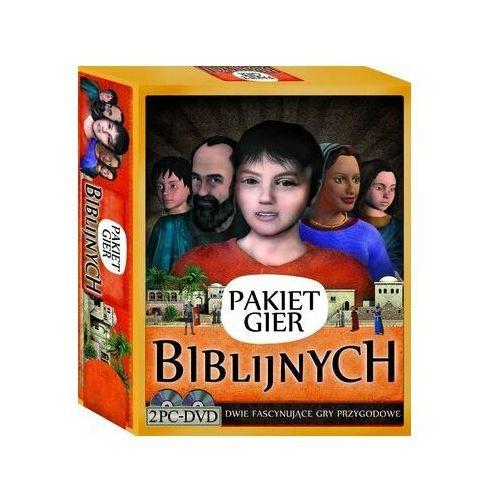 Praca zbiorowa Pakiet gier biblijnych (2 dvd)