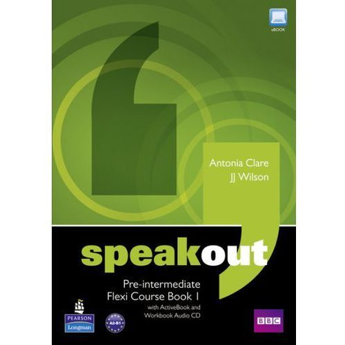 Speakout pre-intermediate flexi course book 1 with ActiveBook and workbook audio CD, Pearson