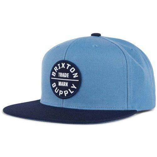 czapka z daszkiem BRIXTON - Oath Iii Snapback Grey Blue/Navy (GYBNV) rozmiar: OS, kolor niebieski