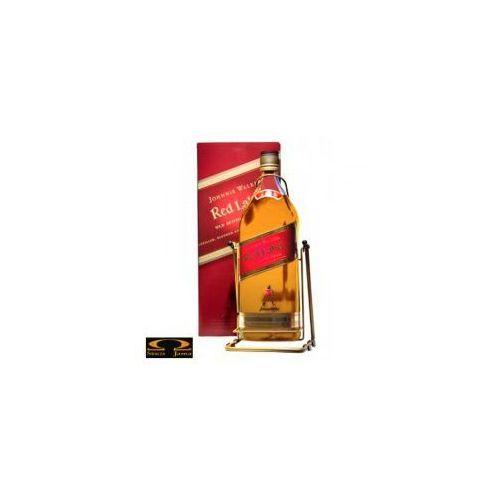 Johnnie walker Whisky red label 4,5l kołyska