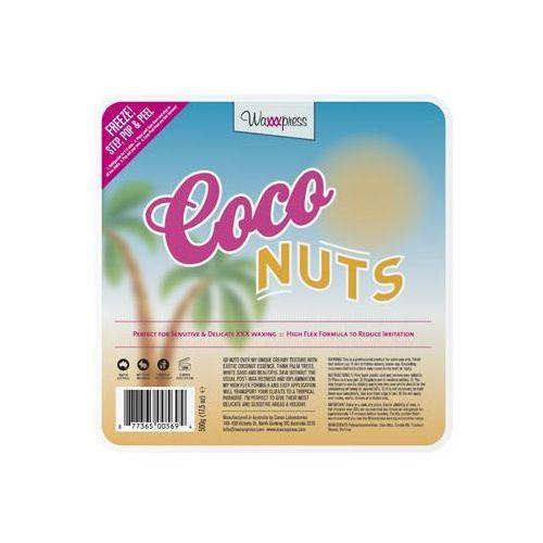 Waxxxpress - Coco Nuts 500 g - Wosk do depilacji bez użycia pasków (4 pastylki x 125 g) - 500 g - oferta [0565622935d51542]