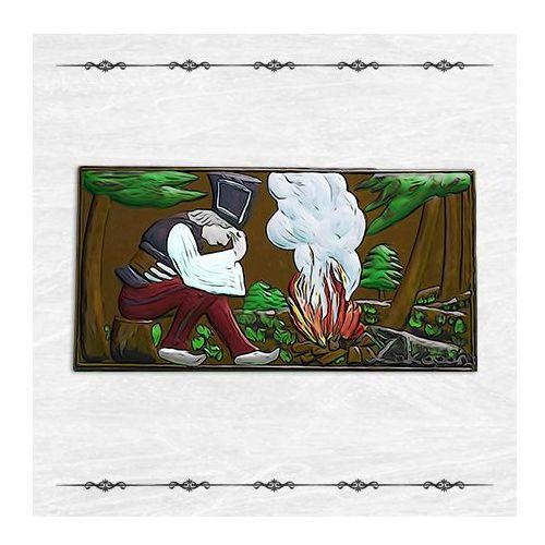"""Czekolada ręcznie malowana """"janosik przy watrze"""" - mleczna marki Góralskie praliny"""