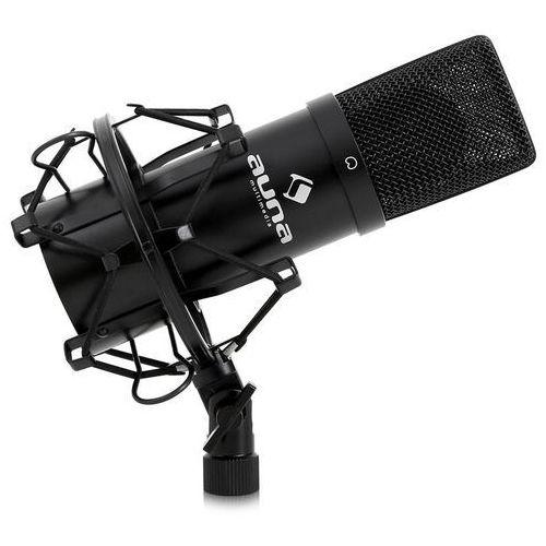 Auna mic-900b usb mikrofon pojemnościowy czarny nerka