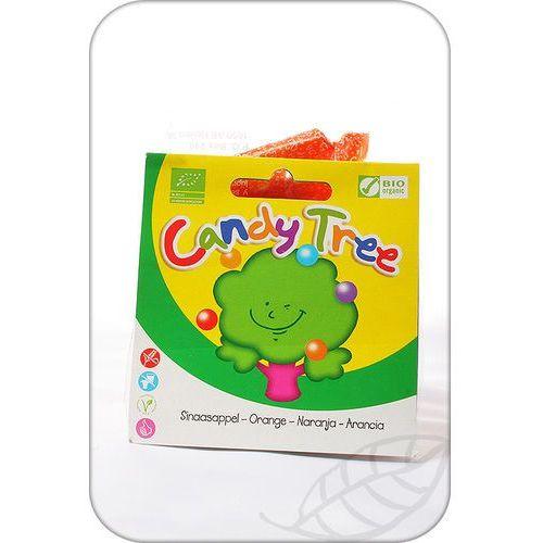 Candy Tree: cukierki pomarańczowe BIO - 75 g (8711542001852)