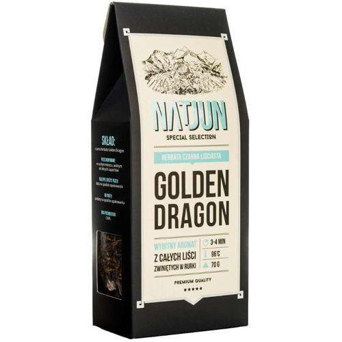 herbata czarna golden dragon 70g marki Natjun