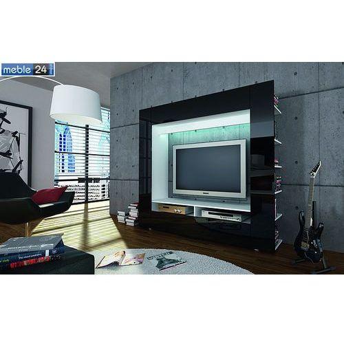 ART 185/162 cm Meblościanka RTV LOLY wysoki połysk rożne kolory ze sklepu meble24sklep