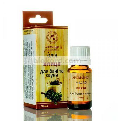 Mieszanka olejków naturalnych do sauny i łaźni parowej pichta, 10 ml marki Aromatika