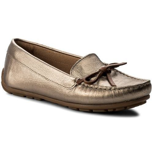 Mokasyny CLARKS - Dameo Swing 261329014 Pewter Metallic