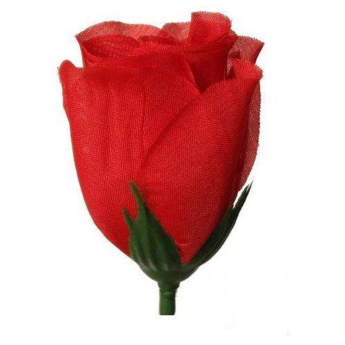 Creativehobby Róża wyrobowa 4x7 cm 1 szt - czerwona - cze