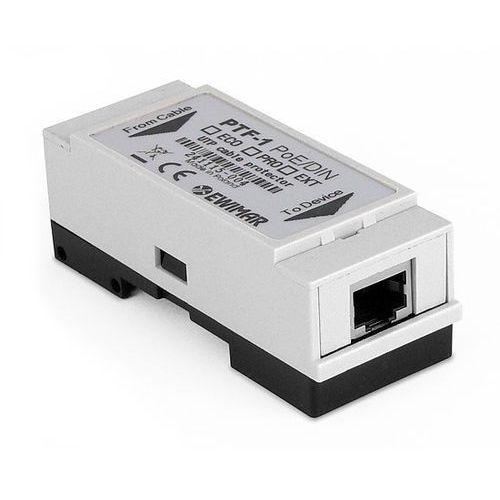 PTF-1-EXT/PoE/DIN Zabezpieczenie przepięciowe LAN serii EXTREME na szynę DIN, PTF-1-EXT/PoE/DIN
