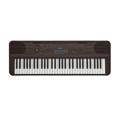 psr e 360 dw keyboard instrument klawiszowy, kolor ciemny orzech marki Yamaha