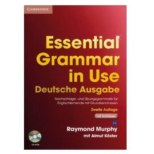 Essential Grammar in Use, Deutsche Ausgabe (mit Schlüssel), m. CD-ROM