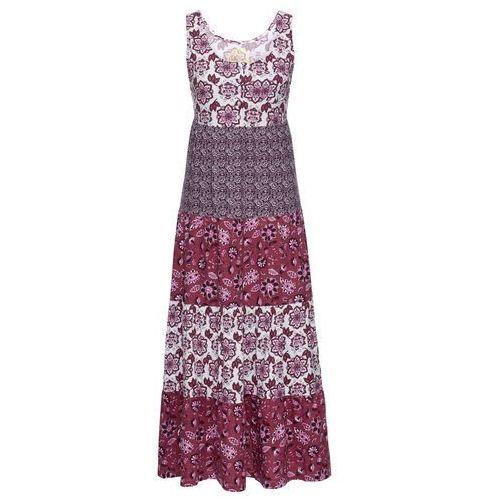 Sukienka ciemnoniebiesko-srebrny marki Bonprix