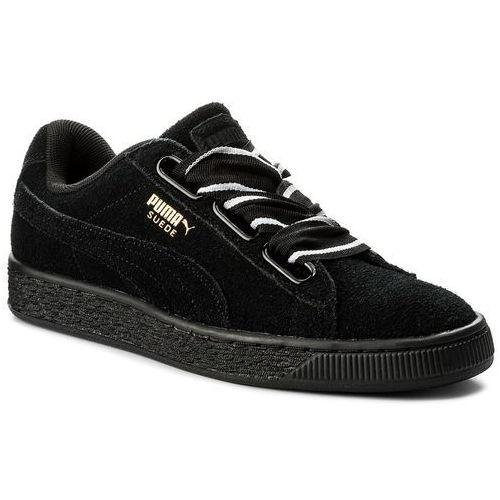 Sneakersy PUMA - Suede Heart Satin II Wn's 364084 01 Puma Black