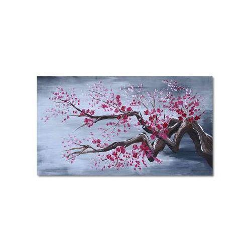 Kwitnące drzewo, fuksja i popiel (obraz)