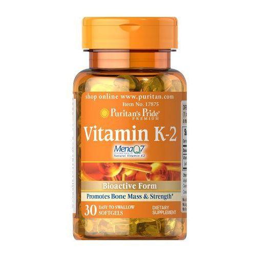 Puritan's Pride Witamina K2 (MenaQ7® menachinon-7) 50µg 30 kaps.