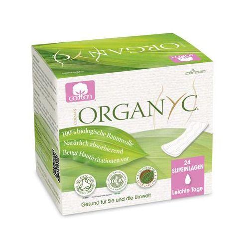Ultra cienkie wkładki higieniczne z bio-bawełny (♠) marki Organyc