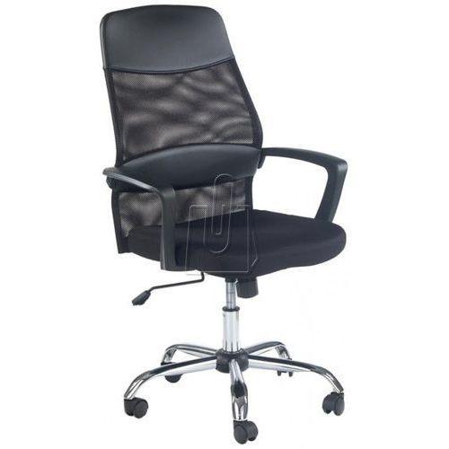 Fotel pracowniczy Halmar Carbon - gwarancja bezpiecznych zakupów - WYSYŁKA 24H, kolor czarny