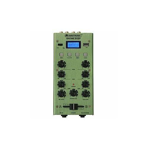 Omnitronic gnome-202p green - mikser dj z bluetooth (4026397660746)