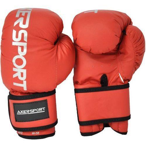 Rękawice bokserskie a1335 czerwony (12 oz) marki Axer sport