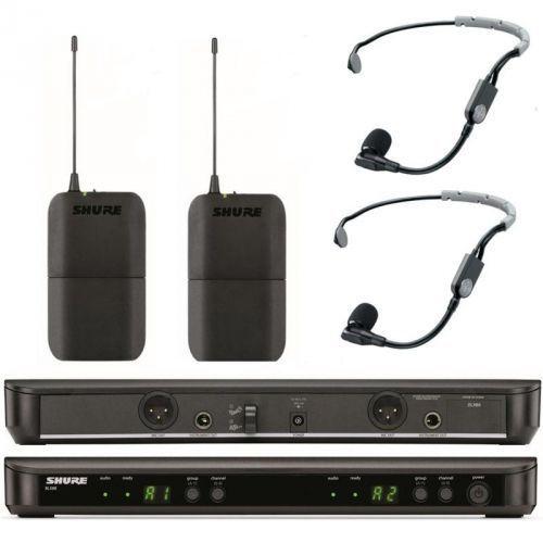 blx188/sm 35 wireless mikrofon bezprzewodowy podwójny, nagłowny sm 35 marki Shure